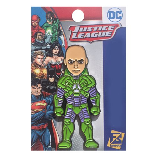 Lex Luther Battle Armor The New 52 Pin