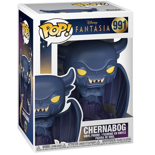 Disney Fantasia 80th Anniversary Menacing Chernabog Pop! Vinyl Figure
