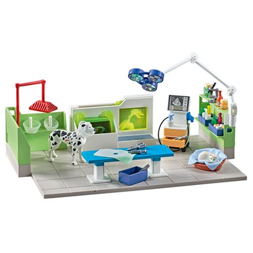 Playmobil 9816 Vet Clinic with X-Ray Machine