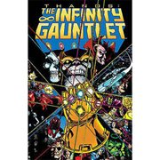 Marvel Comics Infinity Gauntlet Trade Paperback Book
