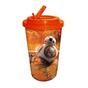 Star Wars: Episode VII - The Force Awakens BB-8 Orange 16 oz. Flip Straw Travel Cup