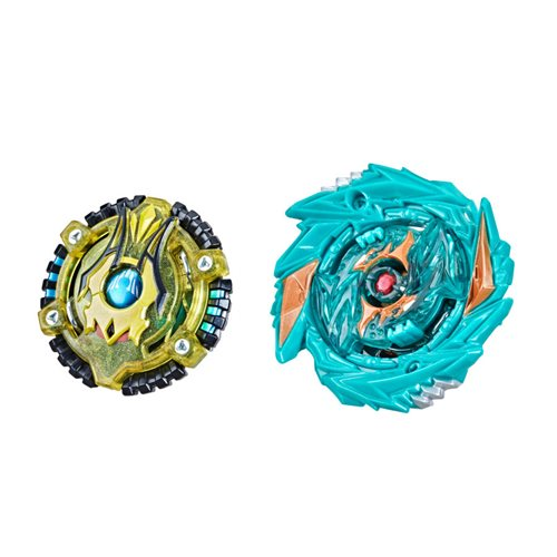 Beyblade Burst Surge Speedstorm Demise Satomb S6 and Anubion A6 Spinning Tops Dual Pack