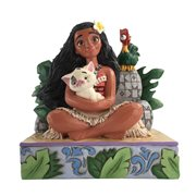 Disney Traditions Moana with Pua and Heihei Welcome to Motunui by Jim Shore Statue