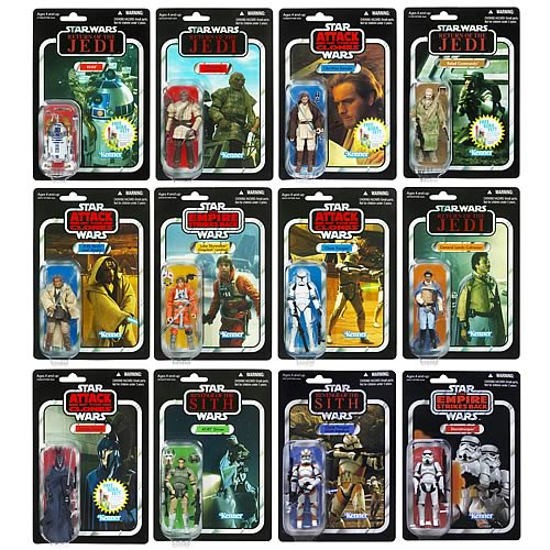 Star Wars Action Figures Vintage Wave 6 Case