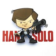 Star Wars Han Solo Mini 3D Light