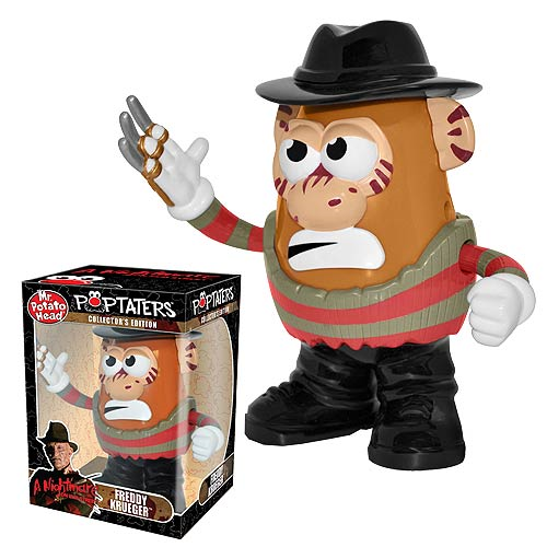 Nightmare on Elm Street Freddy Krueger Poptaters Mr. Potato Head