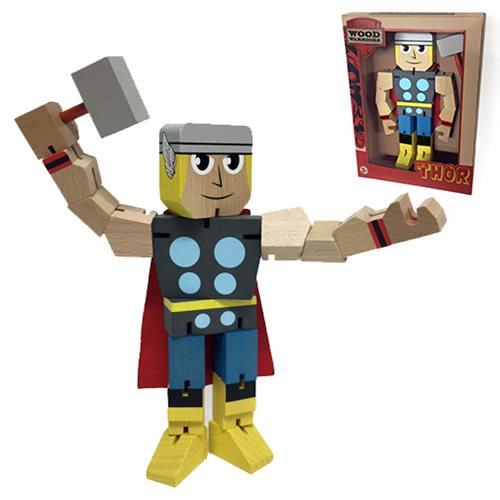 Thor Wood Warriors Action Figure