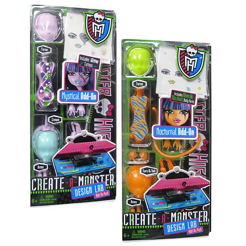 Monster High Create A Monster Lab Add On Pack Wave 1 Case