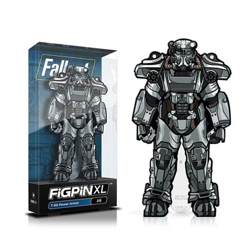 Fallout T-60 Power Armor FiGPiN XL Enamel Pin