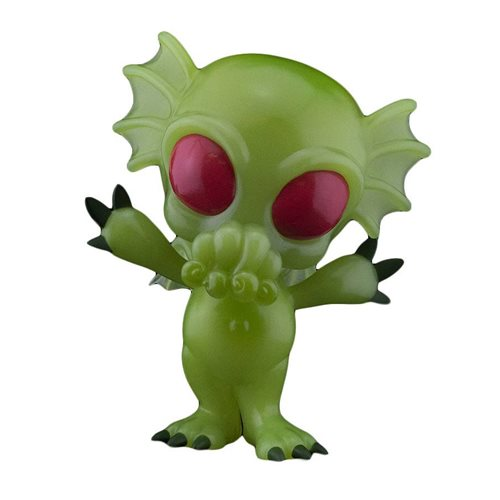 Cryptkins Unleashed Cthulhu Glow-in-the-Dark 5-Inch Vinyl Figure - Halloween Comic Fest 2020 Previews Exclusive