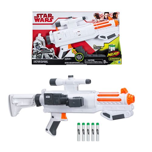 Star Wars: The Last Jedi Nerf Captain Phasma Nerf GlowStrike Blaster