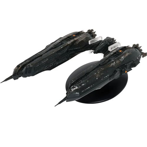 Star Trek: Discovery Starships Klingon Chargh Class Ship with Collector Magazine
