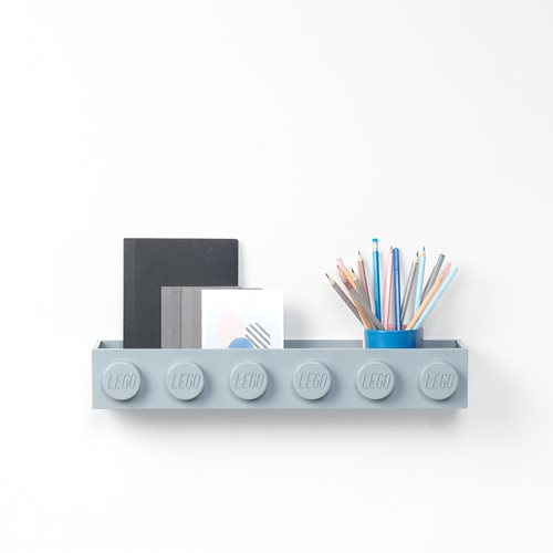 LEGO Gray Book Rack
