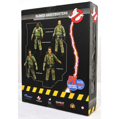 Ghostbusters Slimed Figure Box Set - San Diego Comic-Con 2019 Exclusive