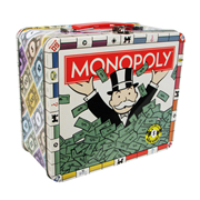 Monopoly Tin Large Fun Box Tin Tote