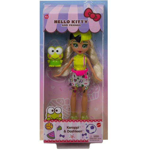Hello Kitty and Friends Keroppi and Dashleen Doll