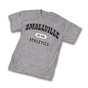 Superman Smallville Athletics Gray T-Shirt