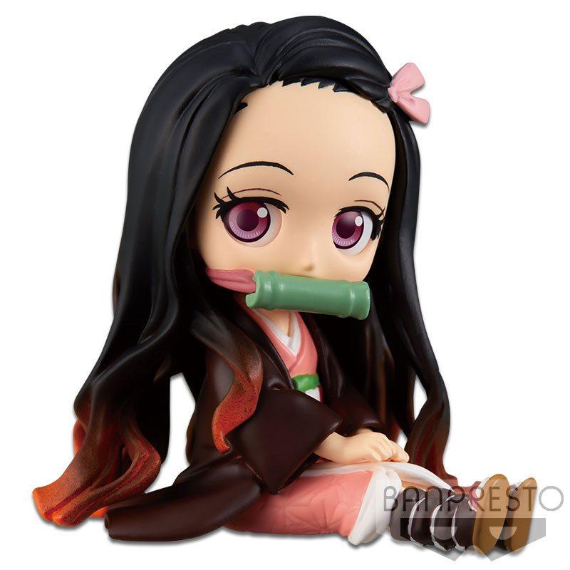Demon Slayer Nezuko Kamado Vol 1 Petit Q Posket Statue Entertainment Earth
