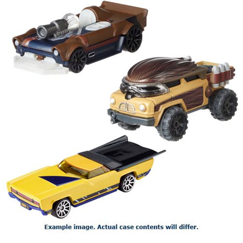 Star Wars Solo Hot Wheels Character Car Carship Wave 2 Case