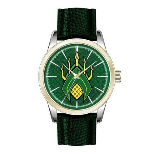 Justice League Movie Aquaman Logo Strap Watch