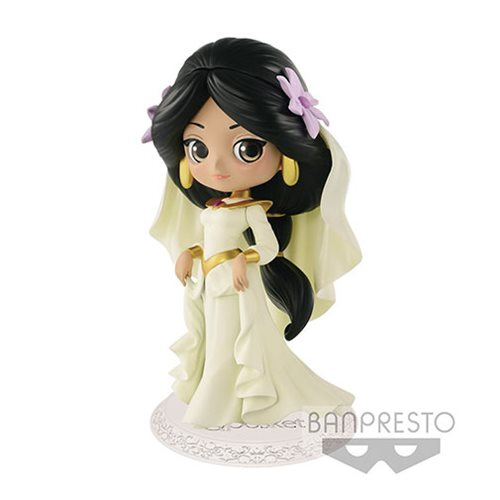 Aladdin Jasmine Wedding Dress Q Posket Statue