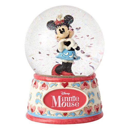Disney Traditions Sweetheart Minnie Mouse 5 1/2-Inch Water Globe