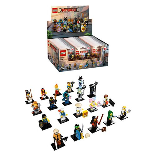 LEGO 6175020 Mini-Figures LEGO Ninjago Movie Display Box 60 Figures