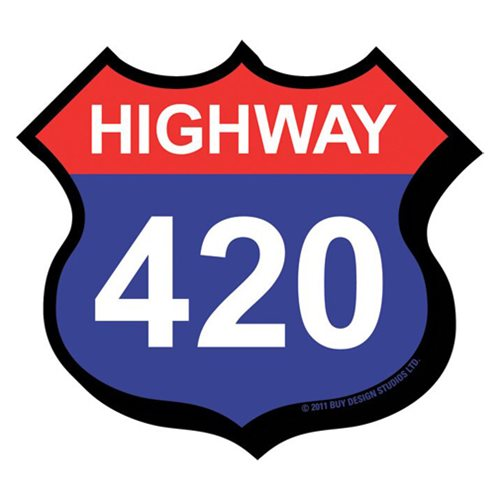 Highway 420 Funky Chunky Magnet