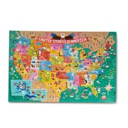 Melissa & Doug Natural Play America the Beautiful 60-Piece Giant Floor Puzzle