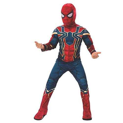Avengers: Infinity War Spider-Man Costume Top with Mask