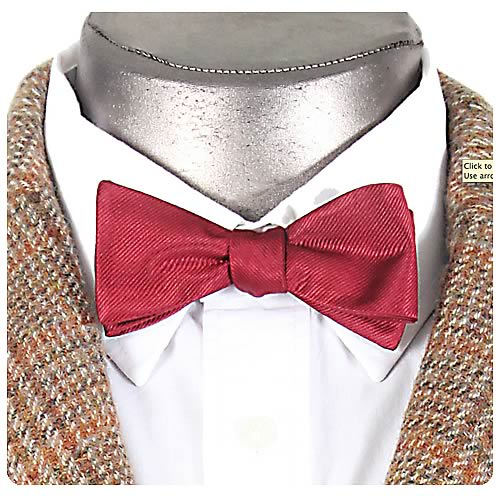 Doctor Who Eleventh Doctor's Clip-On Bow Tie