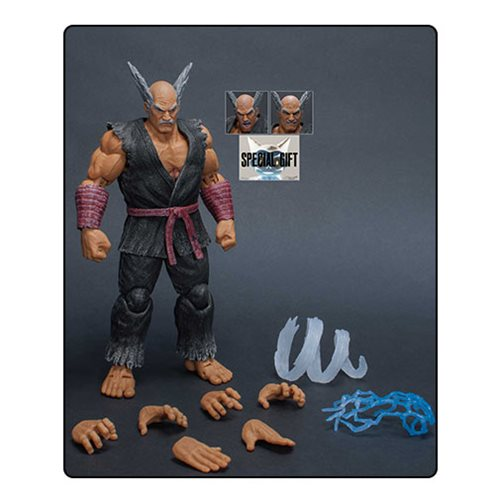 Tekken 7 Heihachi Mishima 1:12 Scale Action Figure - SDCC 2018 Exclusive