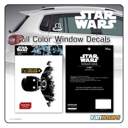 Star Wars K-2SO Window Decal