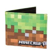 Minecraft Dirt Block Wallet