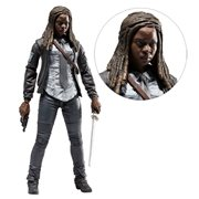 The Walking Dead Constable Michonne Figure, Not Mint