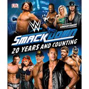 WWE SmackDown 20 Years and Counting Hardcover Book