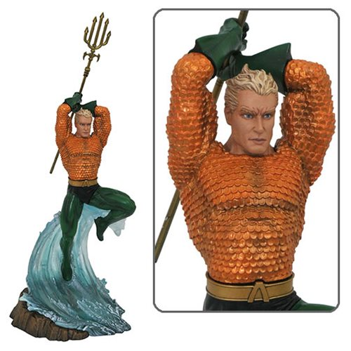 DC Gallery Aquaman Comic Statue