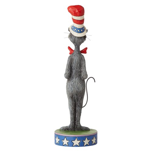 Dr. Seuss Cat in the Hat Patriotic Statue by Jim Shore