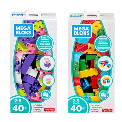 Mega Bloks Building Basics Let's Build Playset Case