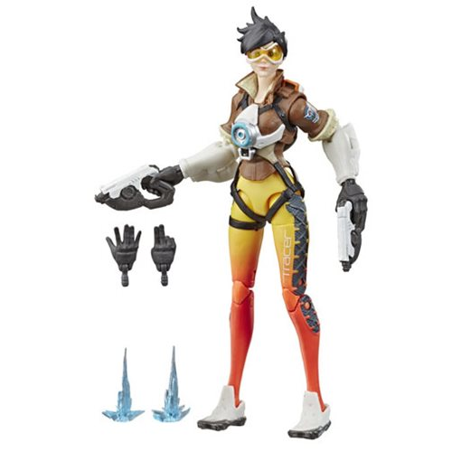 Overwatch Ultimates Tracer Action Figure, Not Mint