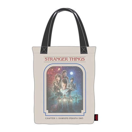 Stranger Things Chapter 1 Canvas Tote