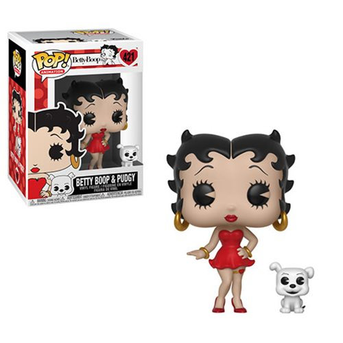 Betty Boop Pop! Vinyl Figure and Buddy