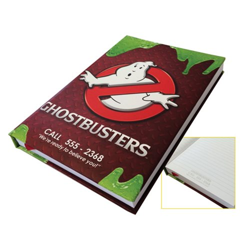 Ghostbusters Containment Unit Journal