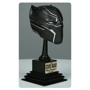 Captain America: Civil War Black Panther Marvel Armory Collection 1:3 Scale Helmet Prop Replica