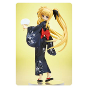 Magical Girl Lyrical Nanoha The Movie 2nd As Fate Testarossa Yukata Version 1:8 Scale Statue