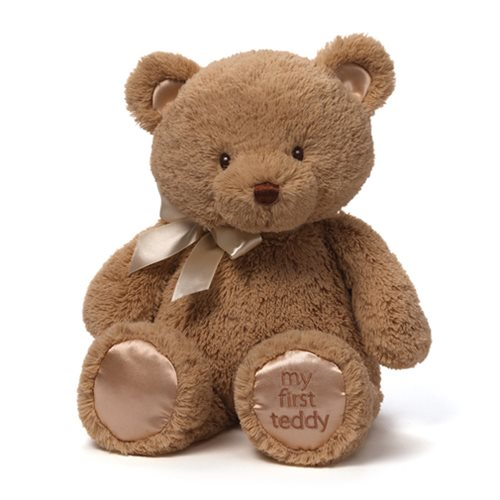 My 1st Teddy Bear Tan 15-Inch Plush