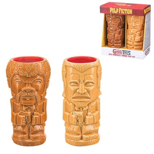 Pulp Fiction Geeki Tikis Mug 2-Pack Set