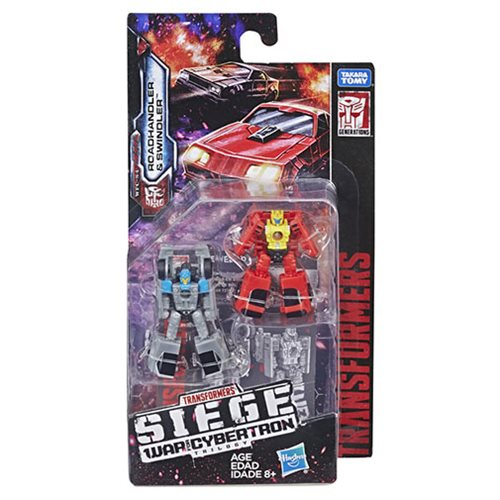 Transformers Generations War for Cybertron: Siege Micromasters Autobot Race Car Patrol Roadhandler a