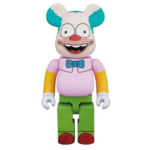 Simpsons Krusty the Clown 100% Bearbrick Figure