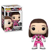 Power Rangers Pink Ranger No Helmet Pop! Vinyl Figure #671, Not Mint